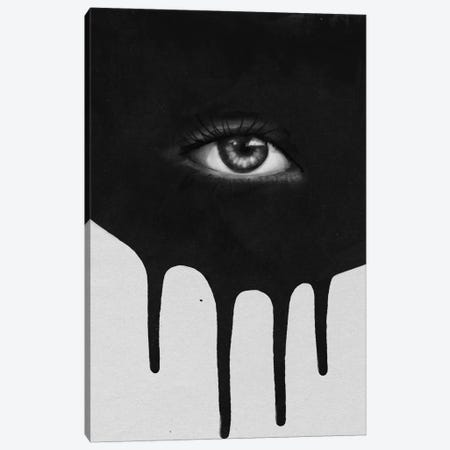Eye Canvas Print #LMO19} by LEEMO Art Print
