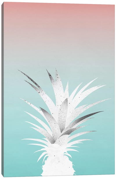 Ananas Comosus Canvas Art Print