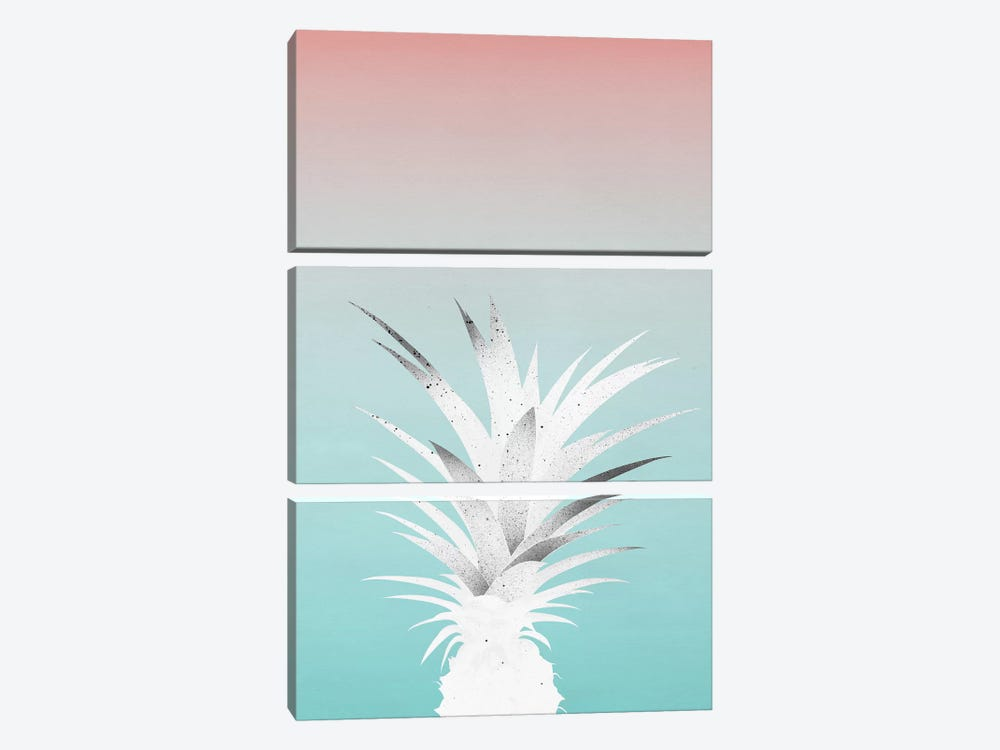Ananas Comosus by Leemo 3-piece Canvas Print
