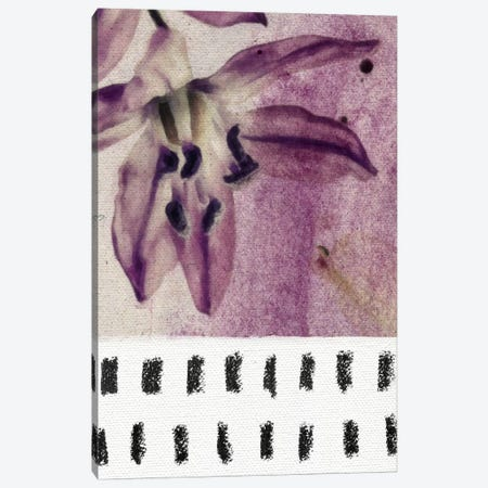 Floral I Canvas Print #LMO20} by LEEMO Canvas Wall Art