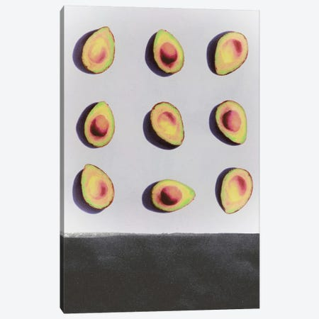 Fruit II 3-Piece Canvas #LMO22} by LEEMO Canvas Art
