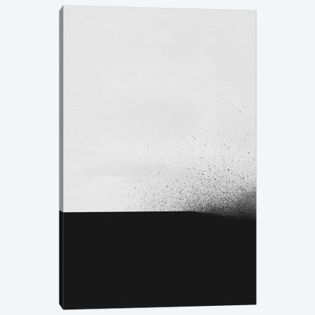 Black Canvas Print #LMO3} by LEEMO Canvas Print