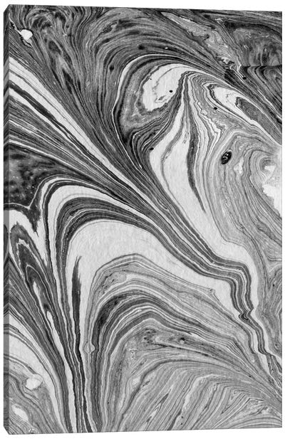 Marbling VII Canvas Art Print