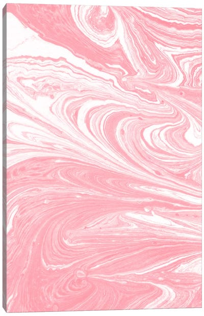 Marbling IX Canvas Art Print