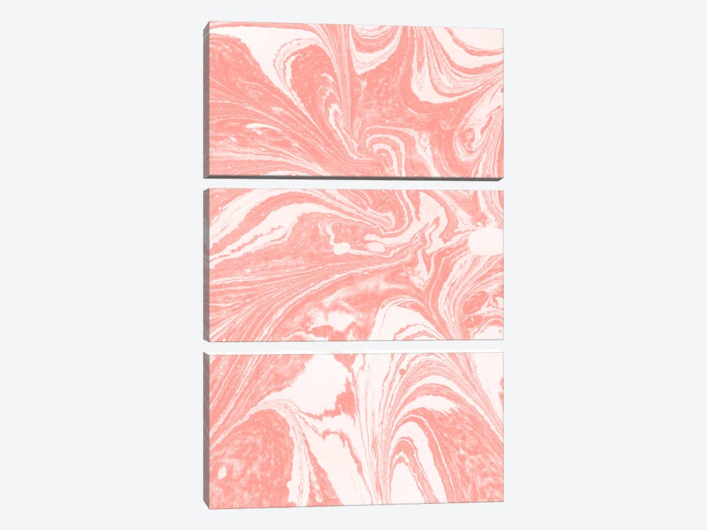 Marbling X by LEEMO 3-piece Canvas Print