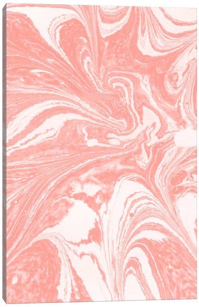 Marbling X Canvas Art Print