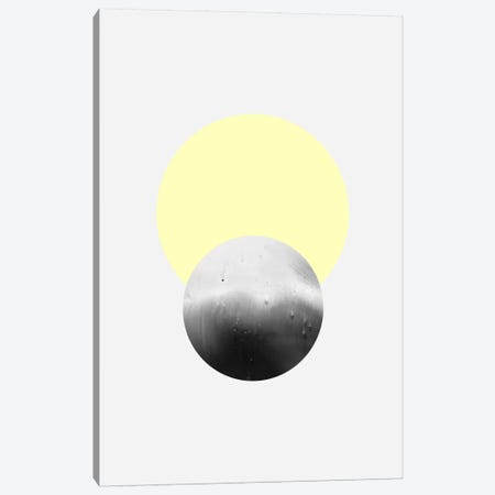 Moon & Sun Canvas Print #LMO56} by LEEMO Canvas Wall Art