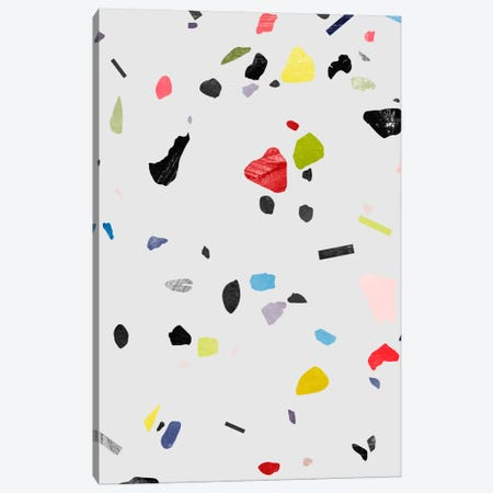 Painted Terrazzo I Canvas Print #LMO58} by Leemo Canvas Art Print