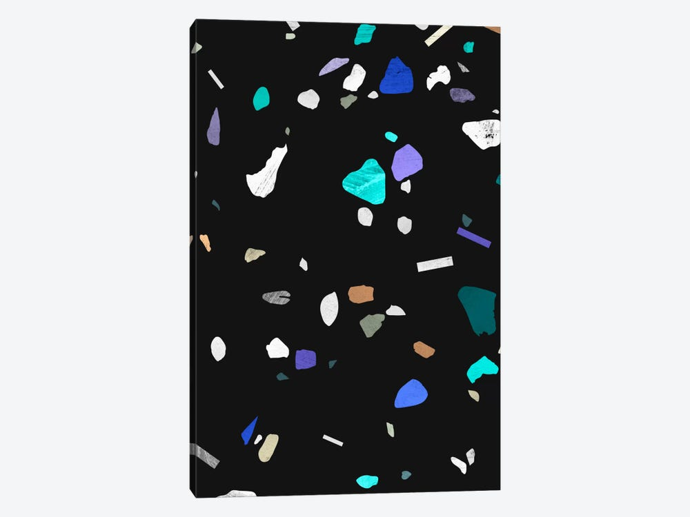 Painted Terrazzo II 1-piece Canvas Art Print