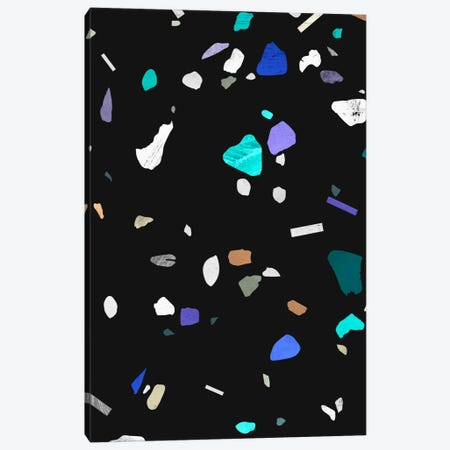 Painted Terrazzo II Canvas Print #LMO59} by Leemo Canvas Art Print