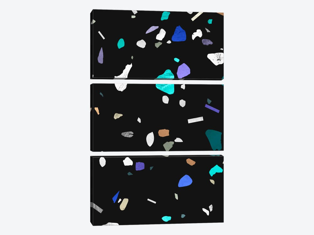 Painted Terrazzo II by LEEMO 3-piece Canvas Print