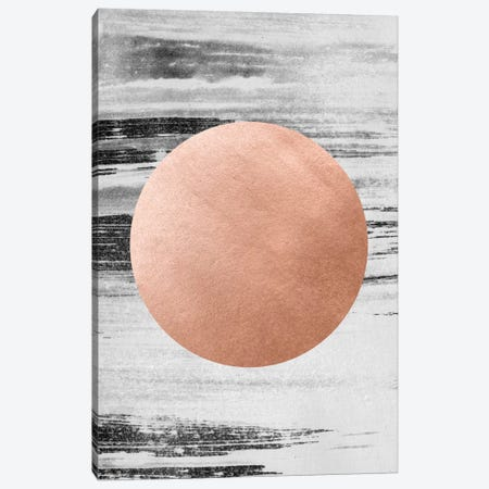 Rose Gold I Canvas Print #LMO62} by LEEMO Canvas Art