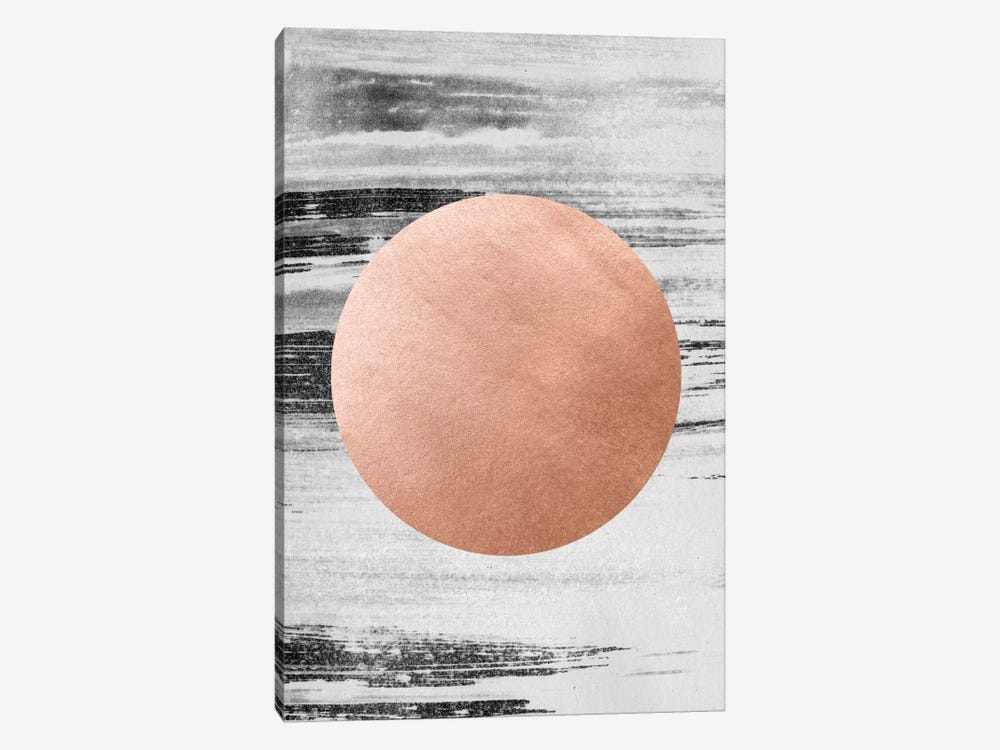 Rose Gold I by LEEMO 1-piece Art Print