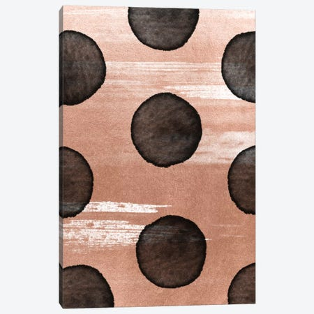 Rose Gold II Canvas Print #LMO63} by Leemo Canvas Art