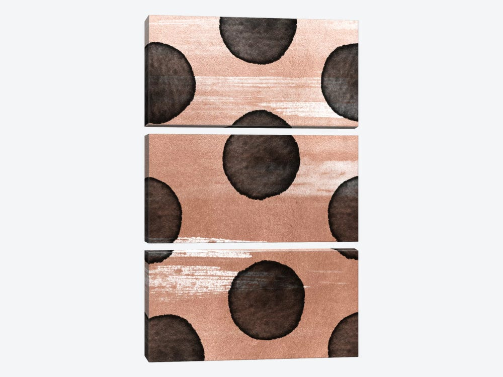 Rose Gold II by LEEMO 3-piece Canvas Wall Art