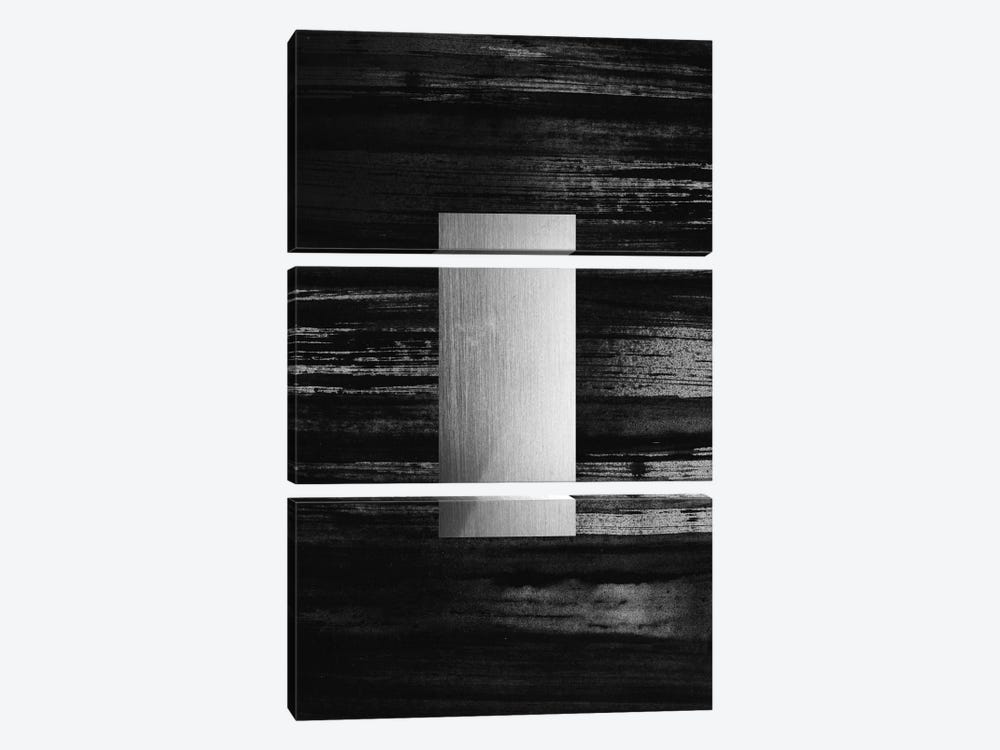 Silver by LEEMO 3-piece Canvas Print