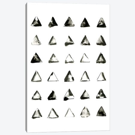 Triangles Canvas Print #LMO66} by LEEMO Canvas Art Print