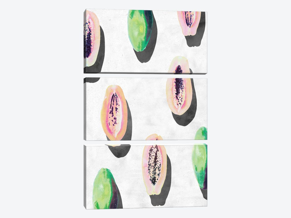 Fruit XI-I by LEEMO 3-piece Canvas Art