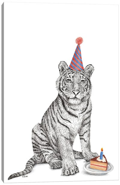Birthday Sambal Canvas Art Print
