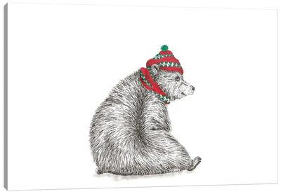 Christmas Bruno Canvas Art Print