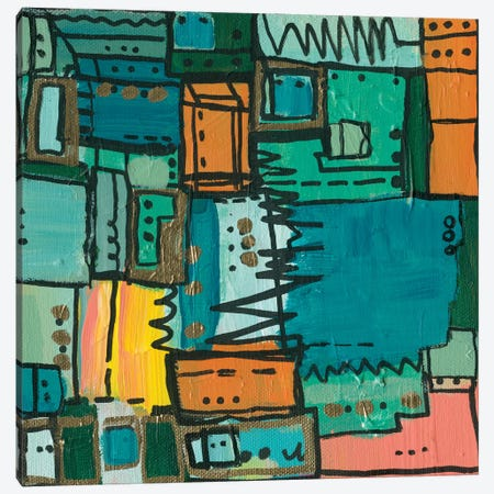 Dont Stop The Music  Canvas Print #LNA12} by Leah Nadeau Art Print