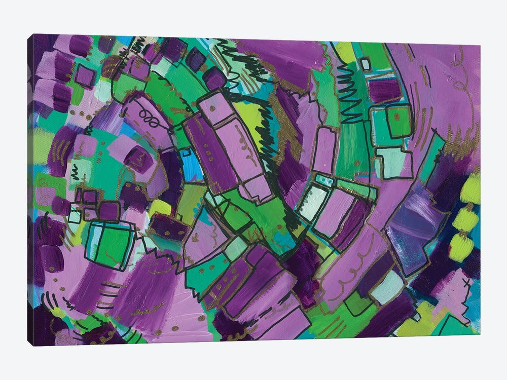 Infinity And Beyond by Leah Nadeau 1-piece Canvas Wall Art