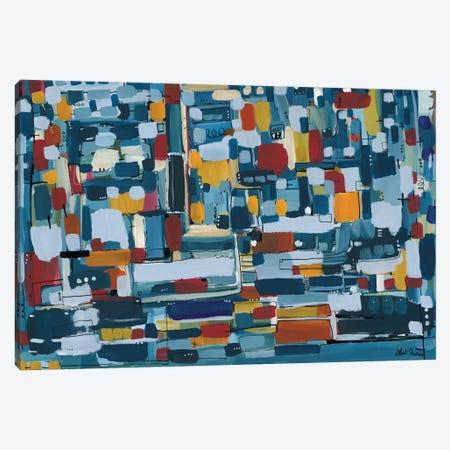 Modern Theory  Canvas Print #LNA15} by Leah Nadeau Canvas Art