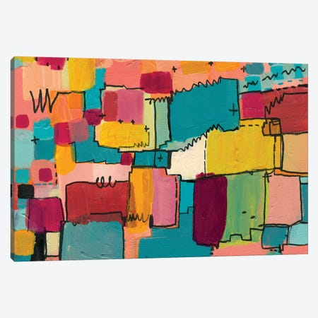 Nova Baby Canvas Print #LNA16} by Leah Nadeau Canvas Art