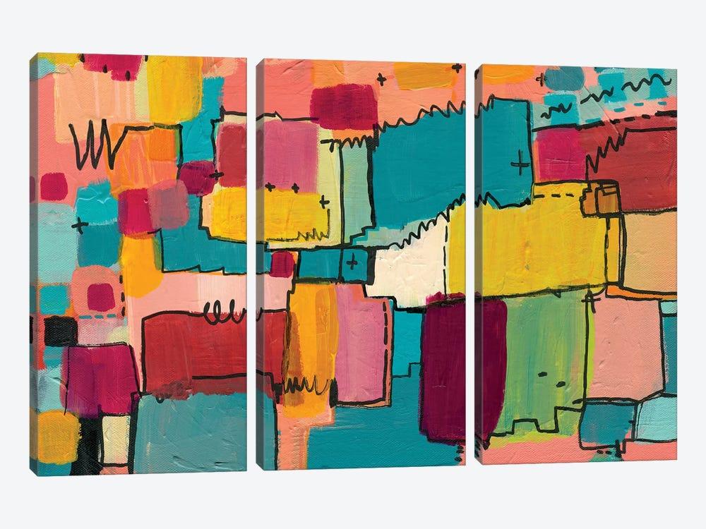 Nova Baby by Leah Nadeau 3-piece Canvas Print