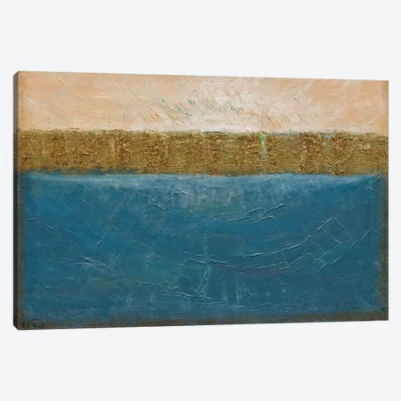 On The Waterfront Canvas Print #LNA17} by Leah Nadeau Canvas Wall Art