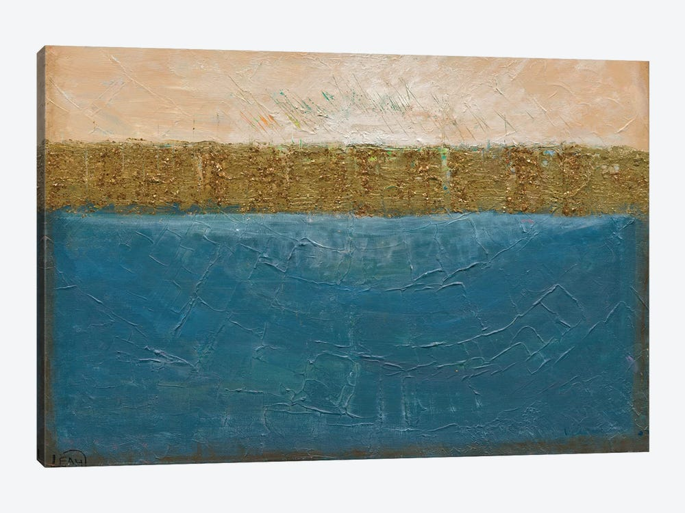 On The Waterfront by Leah Nadeau 1-piece Canvas Art