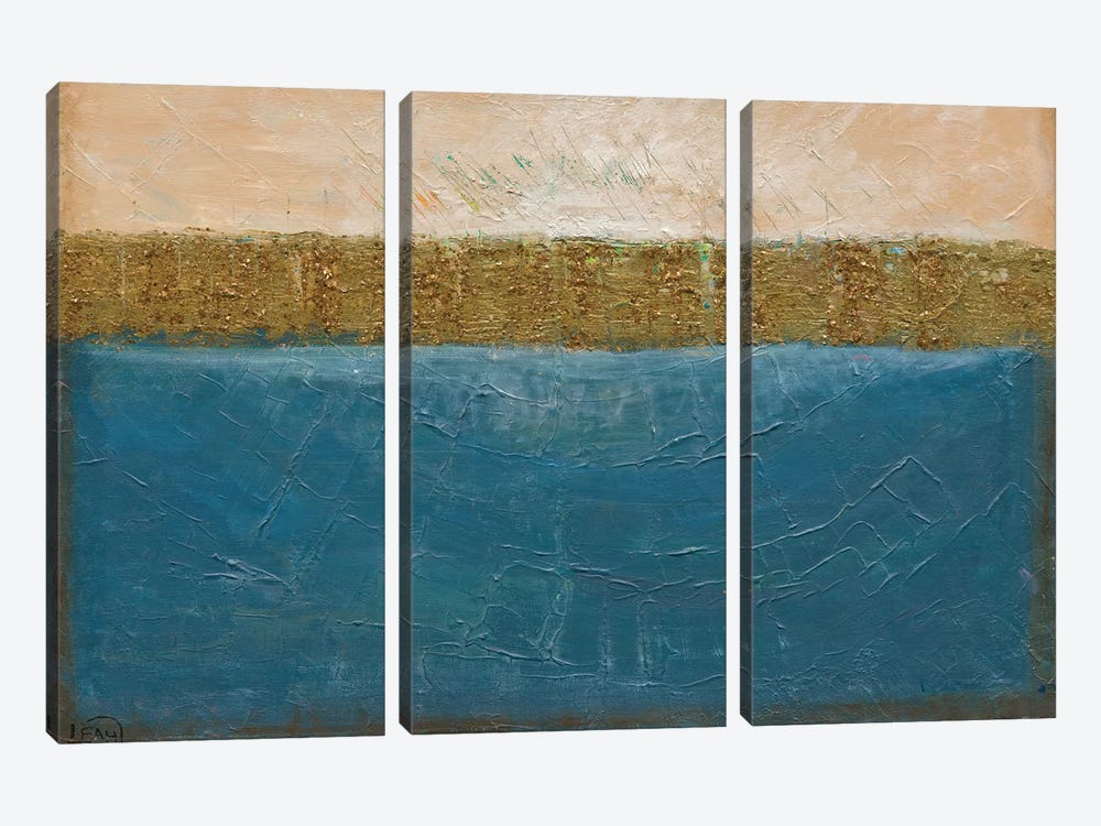 On The Waterfront by Leah Nadeau 3-piece Canvas Art