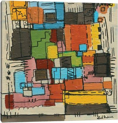Retro Nadeau Canvas Art Print