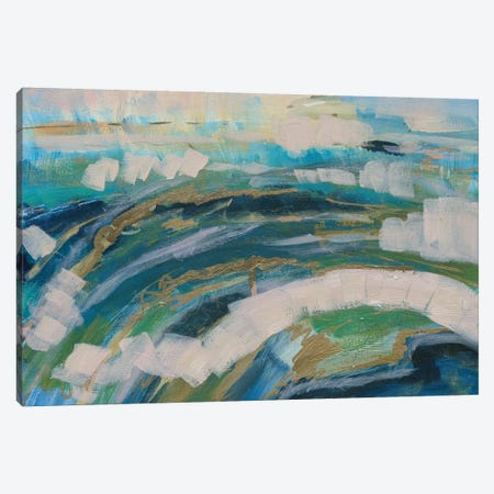Sea Breeze Canvas Print #LNA24} by Leah Nadeau Art Print