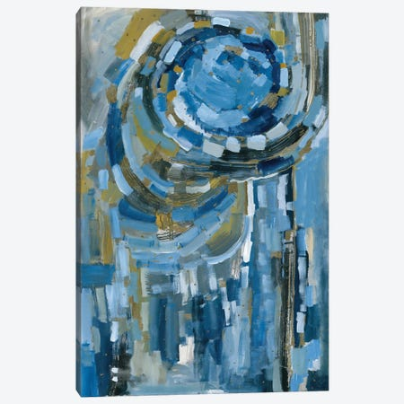 Blue Ribbon Canvas Print #LNA28} by Leah Nadeau Canvas Art