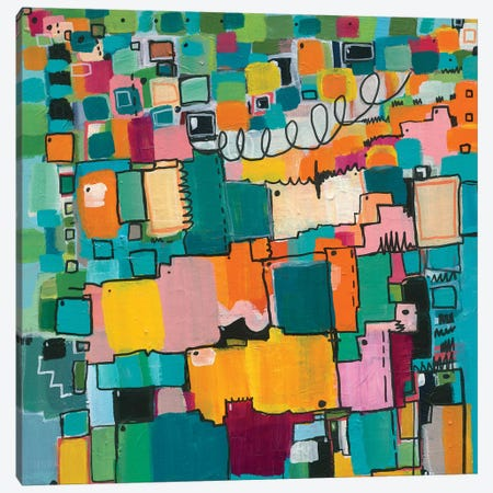 Afternoon Delight Canvas Print #LNA2} by Leah Nadeau Canvas Art