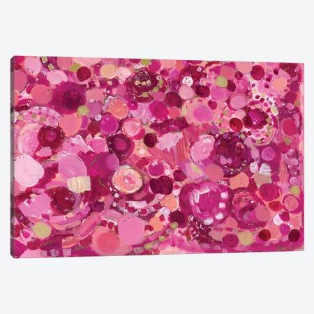Rose Colored Joy Canvas Print #LNA35} by Leah Nadeau Canvas Artwork
