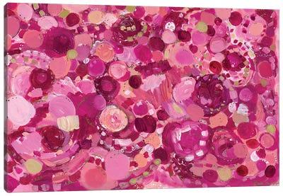 Rose Colored Joy Canvas Art Print