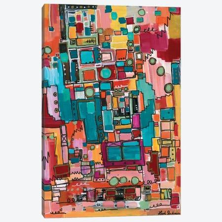 Studio 54 Canvas Print #LNA36} by Leah Nadeau Canvas Art