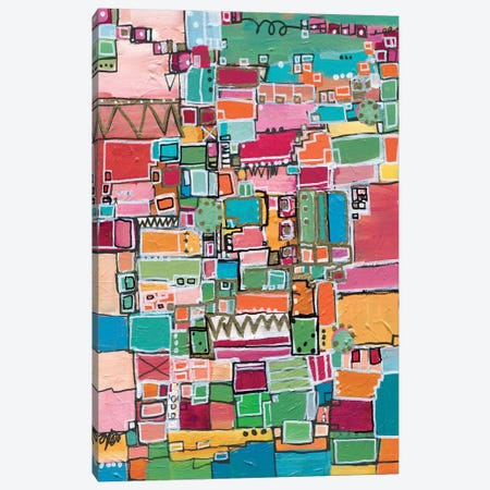 Leah Sees The World Canvas Print #LNA41} by Leah Nadeau Canvas Artwork