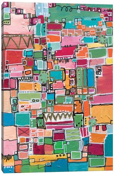 Leah Sees The World Canvas Art Print