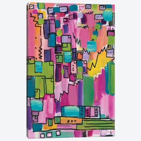 When We Were Kids Canvas Print #LNA42} by Leah Nadeau Canvas Wall Art