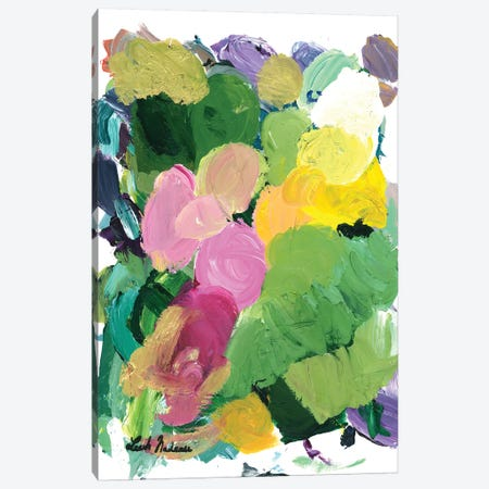 Lush Gardens Canvas Print #LNA44} by Leah Nadeau Canvas Art Print