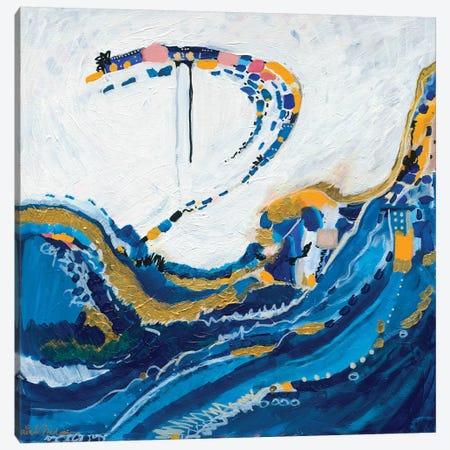 Beneath The Tide Canvas Print #LNA5} by Leah Nadeau Canvas Print