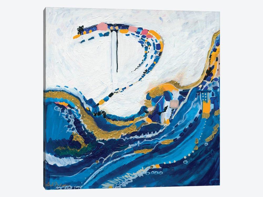 Beneath The Tide by Leah Nadeau 1-piece Canvas Art Print