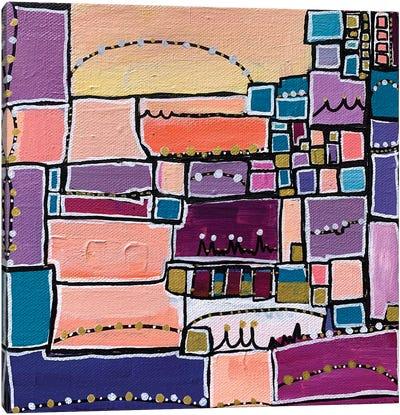 Manhattan Skyline Canvas Art Print