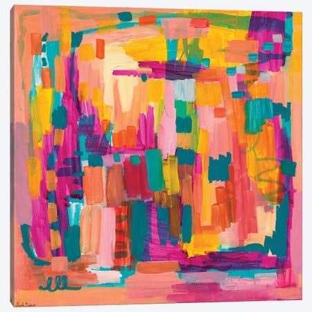 Celebrate Canvas Print #LNA68} by Leah Nadeau Canvas Artwork