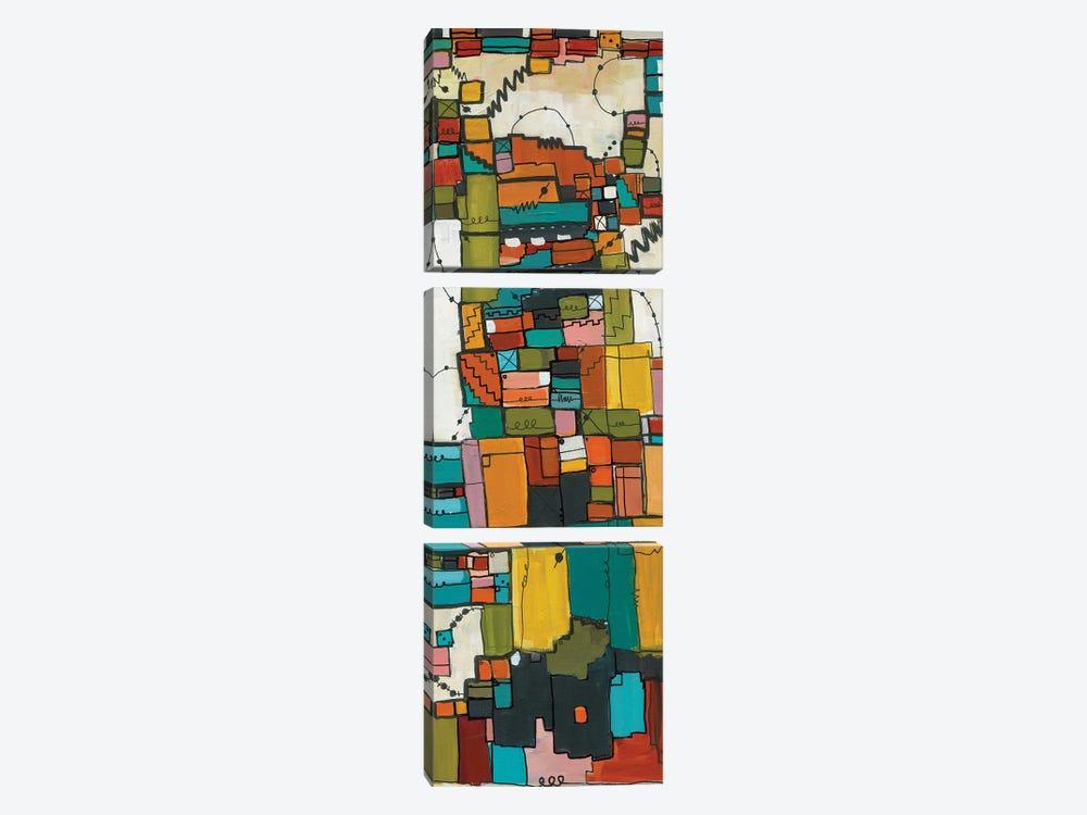 Club 57 by Leah Nadeau 3-piece Canvas Print
