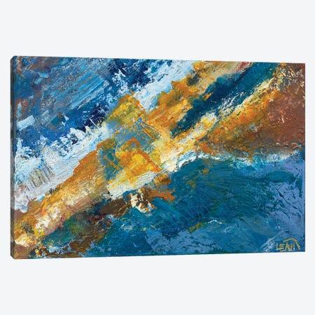 Boom Canvas Print #LNA7} by Leah Nadeau Art Print