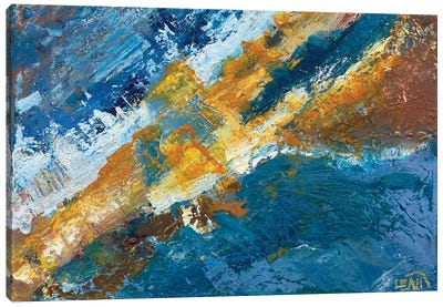 Boom Canvas Art Print